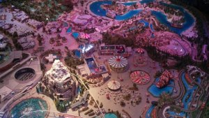 model - Walt's dream Disneyland