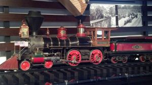 carolwood pacific that went through Walt's backyard
