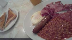 English Breakfast - what my husband had every day of our trip!