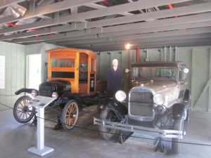 Edison's garage - Ford stored a lot of his vehicles in it.